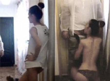 Camgirl films herself fucking a repairman